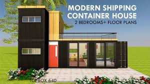 100 Shipping Container Homes Floor Plans Modular 2 Bedroom Prefab Home Design With TOPBOX 640