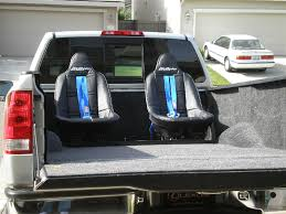100 Kids Truck Bed Ryder Seating System
