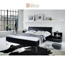 wiemann shanghai futonbett kopfteil mit querleisten schwarz chrom