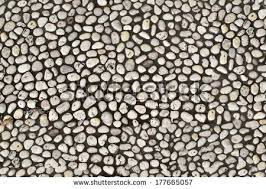 Seamless Pebble Stone Flooring Texture