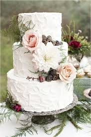 Gorgeous Cake For A Garden Or Bohemian Wedding