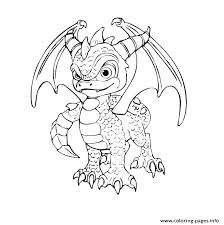 Fire Breathing Dragon Coloring Page Pages For Adults Image