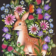 119 Best Maria Trolle Coloring Books Images On Pinterest