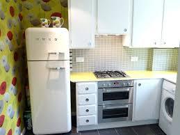 1950s Retro Kitchen With Fridge Cabinet