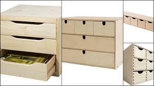 boite a tiroirs en bois le boudoir d ines comment ranger make up quand on commence