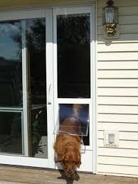 Ideal FastFit Patio Pet Door Insert for sliding patio doors