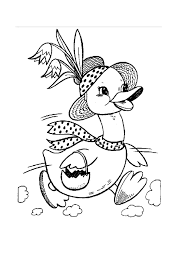 Spring Coloring Pages Printable Book