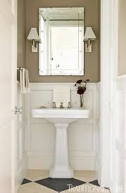 Small Bathroom Wainscoting Ideas by 212 Best Wainscoting In Bathrooms Images On Pinterest