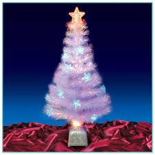 Fiber Optic Christmas Trees On Sale by White Fibre Optic Christmas Tree