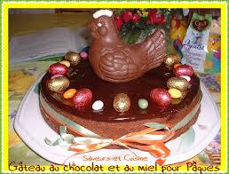 recette de cuisine gateau gâteau au chocolat et miel pour les fêtes de pâques recette pas à
