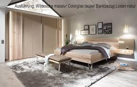 thielemeyer massivholz schlafzimmer cubo wildeiche möbel