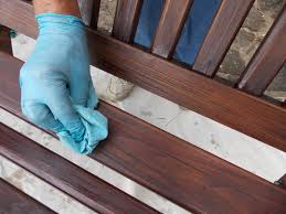 Applying Minwax Polyurethane To Hardwood Floors by Preserving Our Cedar Porch Swing Minwax Blog