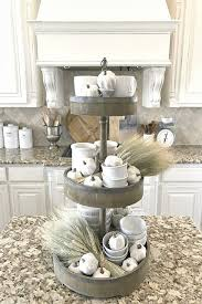One Of My Favorite Homegoods Finds Is This 3 Tiered Tray I Love Styling Kitchen Island DecorKitchen