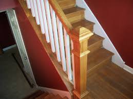 Unique Stair Railing Ideas | : Wood Stair Railing Ideas Remodelaholic Updating An Oak Stair Or Handrail To White And Walnut Rustic Wood Stair Railings Light Wood Staircase Best 25 Painted Banister Ideas On Pinterest Banister Remodel Top Ten Makeovers Link Party Railing Modern Neutral Wooden With Minimalist Steel Railing Bannister Banisters 12 Best Stairs Images Stairs Custom Interior Simple Also Rustic
