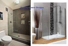 modern walk in shower designs for small bathrooms