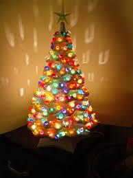 Ceramic Christmas Tree Bulbs Canada by 54 Ceramic Christmas Tree Twist Flame Light Equal Amounts Of All 9