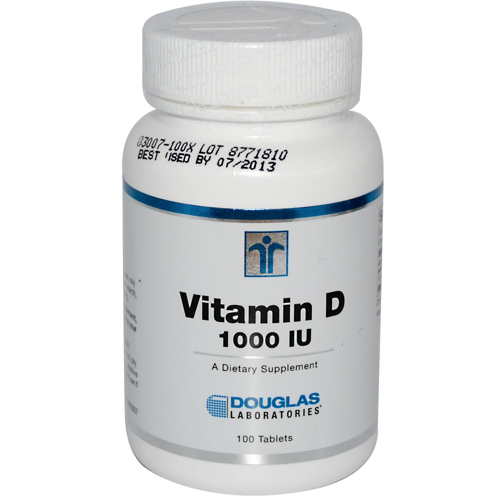 Douglas Laboratories Vitamin D 1000 IU Dietary Supplement - 100 Tablet