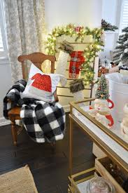 Captains Chairs Dining Room by Cottage Farmhouse Christmas Dining Room Fox Hollow Cottage