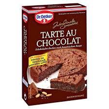 dr oetker internationale spezialität backmischung tarte chocolat 470 g