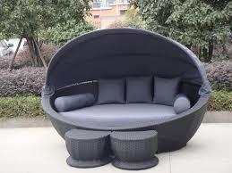 Piece Font B Black Tuscany Rattan Wicker Sofa Chair SurriPuinet