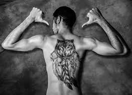 20Duality Of Motif Top 20 Dreamcatcher Tattoos
