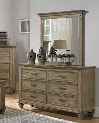 Shoal Creek Dresser Oiled Oak by Homelegance Sylvania Dresser Driftwood Oak 2298 5