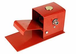 foot pedal for 260 gallon sandblast cabinet power sand blasters