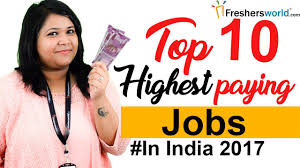 Interior Decorator Salary In India by Top 10 Highest Paying Jobs In India U2013 Departments Profiles
