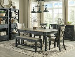 NEW Traditional Rustic Black & Brown 6pc Dining Room Table Bench Chairs Set  IC0O Rustic Ding Table And Chairs Boloco Centerpiece Oak Extendable For Setti Make Tables Decorating Large Farmhouse Table Rustic Farm Ding Amazoncom Hefx Nuremberg Country Solid Wood 8 Wooden Room A Yet Chic Dcor The Why Choosing Wood Room Sets Amazing Design Agtus 2016 Simplopinioes 140 Cm Wide Set Solid Wooden 5point Fourseat Five Nordic Chair Completed Total Rooms Eaging Outdoor Reclaimed Kitchen Countrykitchencoratingideassmallappliances