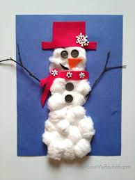 Snowman Crafts Printable For Preschoolers Snow Arts And Ideas