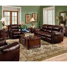 Sams Club Leather Sofa And Loveseat by Lane Sidney Leather Reclining Sofa Set 3 Pc Sam U0027s Club