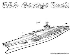Navy Ships Coloring Pages Kids