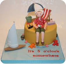 Beach Themed Retirement Cake By The Clever Little Cupcake Company Amanda Via Flickr