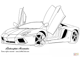 Click The Lamborghini Aventador Coloring Pages To View Printable Version Or Color It Online Compatible With IPad And Android Tablets