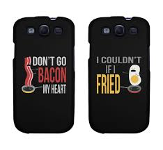 Funny Bacon and Egg Matching Phone Cases for iphone 4 iphone
