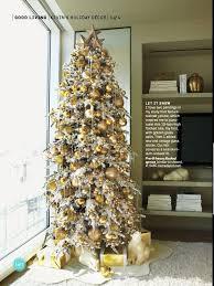 Tall Skinny Christmas Tree Glass Icicles Cut Felt Skirt