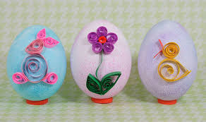 Quilled Paper Easter Eggs 2