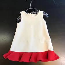 Girls Dress 2017 Cute Snow White Cartoon Print Kids Dresses For Sweet Color Children Clothing