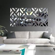 the new 3 d diy acrylic mirror wall post modern home sitting room bedroom adornment wall mirror on the wall free shipping