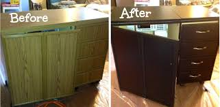 Horn Sewing Cabinets Second Hand by My Quilt Infatuation Sewing Cabinet Makeover For My Un Sewing Room