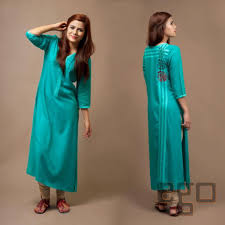 Simple Dresses For Pakistani Girls And Women 2016