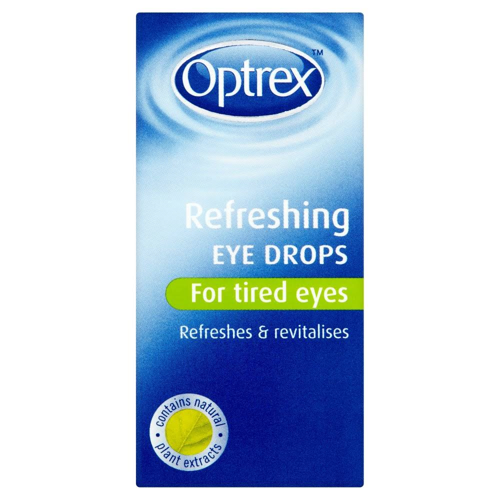 Optrex Tired Eyes Refreshing Eye Drops - 10ml