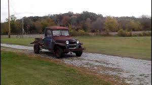 1956 Willys Truck First Run In 25 Years - YouTube Willys Pickup Photo And Video Review Comments Ted Tuerk Kaiser Jeep Blog Find Of The Week 1951 Truck Autotraderca 1962 1950 Jeepster Submitted By Staff 1959 In Mmaris Turkey Wagon Dave_7 Flickr 1947 Stock 1947willystruck For Sale Near New Pickup Ls Swap Fast Specialties Performance Auto Restoration Walk Around Youtube Overland Crossley Wikipedia Hemmings Day 473 4wd Picku Daily File1947 1231061525jpg Wikimedia Commons