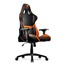 Video Rocker Gaming Chair Amazon by Amazon Com Cougar Armor Gaming Chair Orange Sports U0026 Outdoors