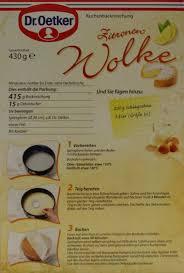 dr oetker zitronen wolke kuchenbackmischung 430g