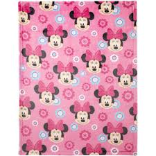 Minnie Mouse Rug Bedroom by Disney Minnie Mouse Plush Printed Blanket Walmart Com