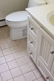 Tiling A Bathroom Floor Around A Toilet by Working Around