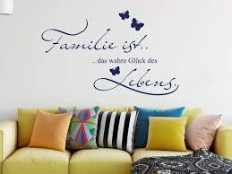 grazdesign wandtattoo familie ist das wahre glück des lebens