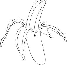 Pain à La Banane Dessin Livre De Coloriage Image Banane