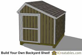 Saltbox Shed Plans 10x12 by 8x12 Saltbox Shed Plans Saltbox Storage Shed